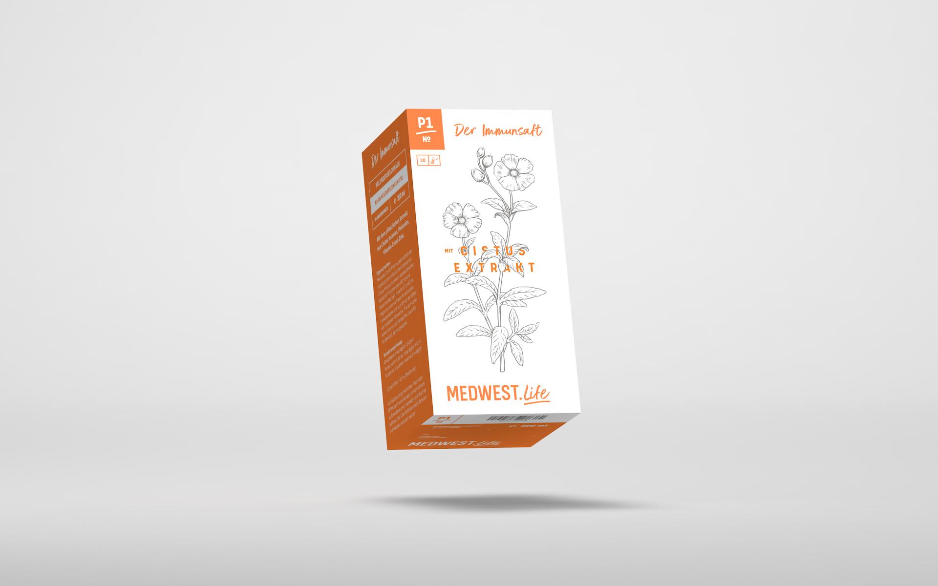 № P1 –  Der Immunsaft mit Zistusextrakt