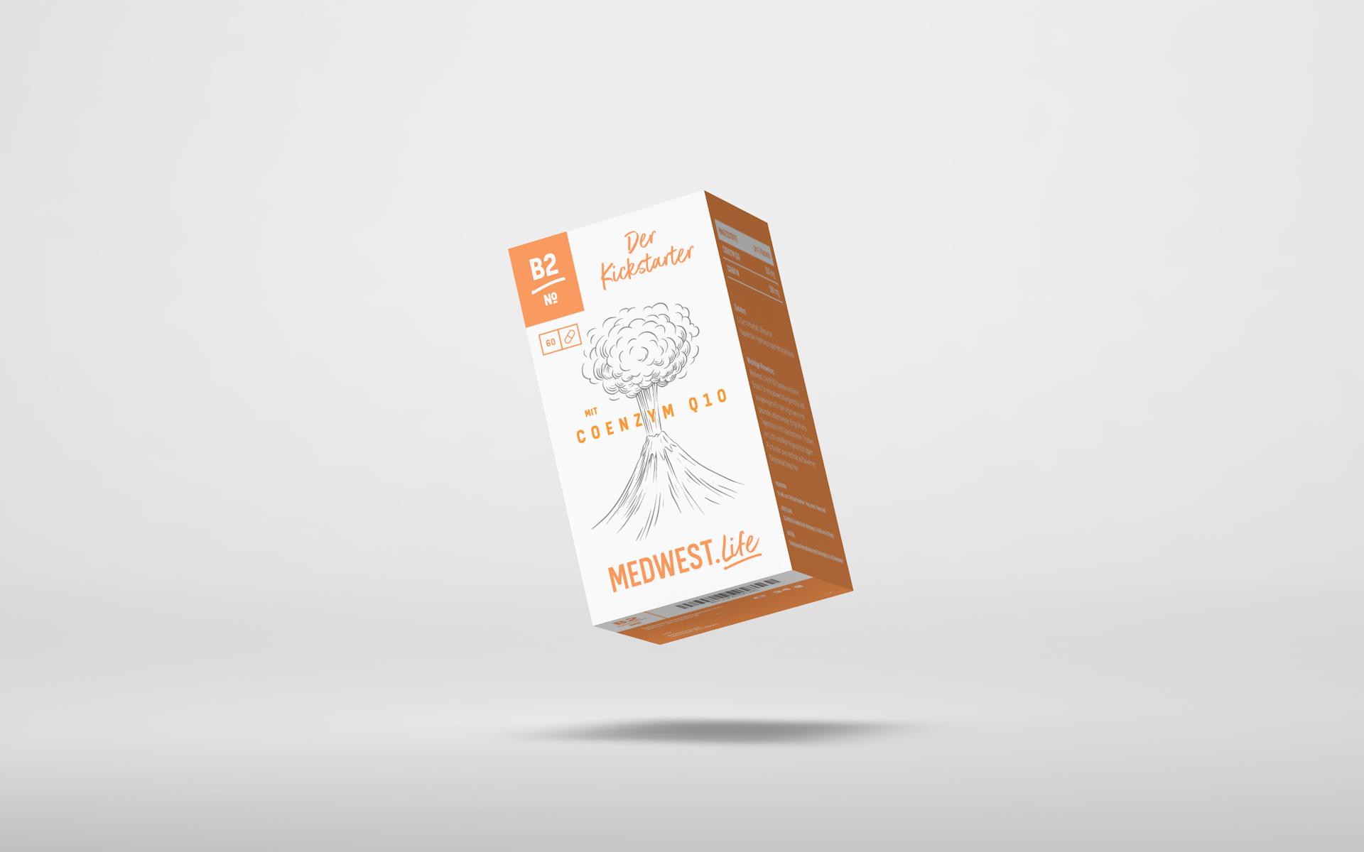 № B2 –  Der Kickstarter mit Coenzym Q10
